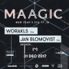 MAAGIC 'New Year's Eve 17x18' Härterei Club Zürich Billets