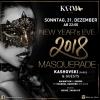 New Year's Eve 2018 - Masquerade Karma Club Bern Biglietti