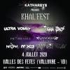 Khal'fest avec Ultra Vomit et Tagada Jones Halle des Fêtes Vallorbe Tickets