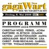 gägäWärt - die Mundartnacht Kulturfabrik Kofmehl Solothurn Tickets