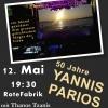 50 Jahre Yannis Parios Rote Fabrik Zürich Tickets