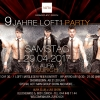 9 Jahre Loft1 - Party! AURA Club Zürich Billets
