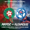 Maroc vs Slovaquie Stade de Genève Genève Biglietti