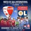 FC Sion vs Olympique Lyonnais Stade St-Germain Savièse Tickets