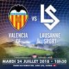 Valencia CF vs Lausanne Sport Stade du Christ-Roi Lens Biglietti