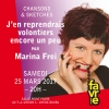Marina Frei Salle Point favre Chêne-Bourg Biglietti