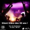 Silent Party des 30 ans Parc de Montbenon Lausanne Biglietti
