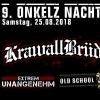 9. Onkelznacht Schweiz Musigburg Aarburg Tickets