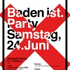 Baden ist. Party Nordportal Baden Billets