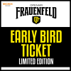 Early Bird Ticket: 3-Tages Ticket DO-SA Grosse Allmend Frauenfeld Tickets
