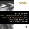 Vivid D&B Nites Parterre One Music Basel Billets