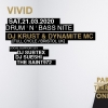 VIVID D&B Nite Parterre One Music Basel Billets