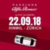 Passione Alfa Romeo TCS Zentrum Betzholz Hinwil (ZH) Billets