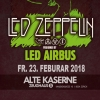 Led Airbus plays Led Zeppelin Alte Kaserne Zürich Tickets