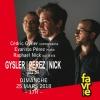 Gysler / Perez / Nick Salle Point favre Chêne-Bourg Billets