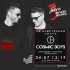 Cosmic Boys KUGL St.Gallen Billets