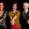 """Marie-Gabrielle Räfle, Yvette Kolb und Barbara Kleiner: """"Lieder-liche Frauengeschichten"""" Theater im Teufelhof Basel Tickets"""