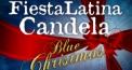 Fiesta Latina Candela - Blue Christmas