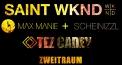 2 Jahre Liebe zur Musik mit Saint WKND, Tez Cadey, Manniezzl