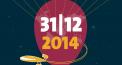 Silvester 2014 -  Around the World - Feiern bis die Luft raus ist
