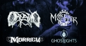Metalmayhem: Oceano (US), Make Them Suffer, Morrigu, Ghost Lights