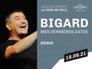 Time-Event présente en accord avec DH Management J-M Bigard Le spectacle de ma vie