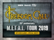 Freedom Call - M.E.T.A.L. Tour 2019