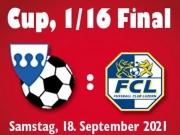Schweizer Cup - 1/16-Final: SC Buochs - FC Luzern
