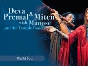 VERSCHOBEN: Deva Premal & Miten with Manose - and the Temple Band - World Tour 2021