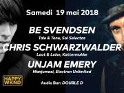 Be Svendsen - Chris Schwarzwalder - Unjam Emery