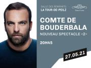 ANNULÉ: Time-Event en accord avec AS PROD présente: Le Comte de Bouderbala Nouveau spectacle 2