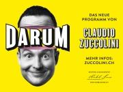 Claudio Zuccolini mit der Show *DARUM - live im Kino-Saal