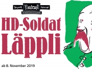 ABGESAGT: HD-Soldat Läppli - mit Gilles Tschudi und grossem Ensemble
