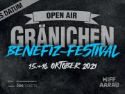 VERSCHOBEN: Openair Gränichen Benefiz-Festival - 15. - 16. Oktober 2021