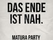 Matura Party 2018 - Das Ende ist nah. Kombiticket
