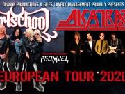 VERSCHOBEN: Alcatrazz + Girlschool + Asomvel