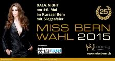 25. Miss Bern Wahl 2015