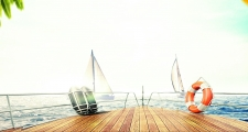 Planet 105 We Love Ibiza Boat