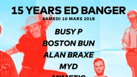 15 years Ed Banger Audio Club Genève Tickets