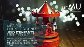 Jeux d'enfants BCV Concert Hall Lausanne Tickets