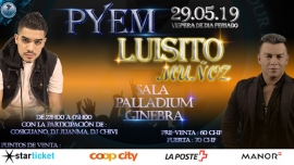 Concert Luisito Muñoz et PYEM Palladium Genève Billets