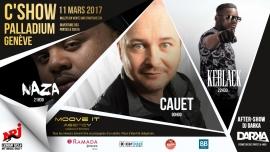 C'Show - Keblack et Cauet Salle du Palladium Genève Billets