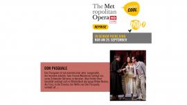 Metropolitan Opera: Don Pasquale Pathé Küchlin, Saal 1 Basel Tickets