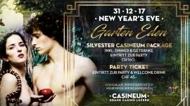 Silvester 2017/18 Casineum & The Club Grand Casino Luzern Tickets