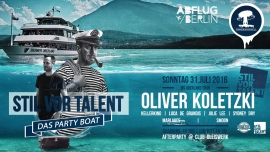 Stil vor Talent - Das Party Boat MS Berner Oberland (ThS) Thun Tickets
