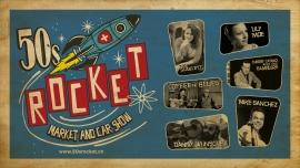 50's Rocket - Market & Car Show Mehrzweckhalle Zofingen Billets