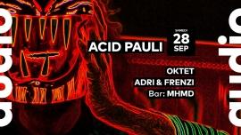 Acid Pauli - Oktet - Adri & Frenzi - MHMD Audio Club Genève Billets