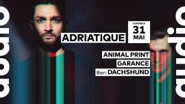 Adriatique Audio Club Genève Biglietti