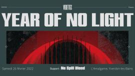 Year of No Light (F) + No Spill Blood (IR) Amalgame Yverdon-les-Bains Billets