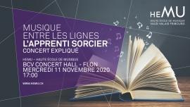 L'Apprenti Sorcier BCV Concert Hall Lausanne Tickets